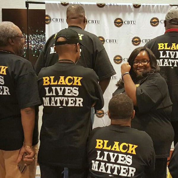 CBTU 44th International Convention - Black Lives Matter Group Photo